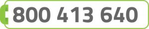 numero verde: 800413640